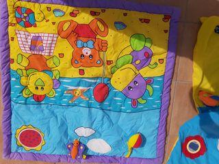 Pack 3 Mantitas para juego en el suelo