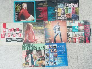 Vinilos recopilatorios años 60