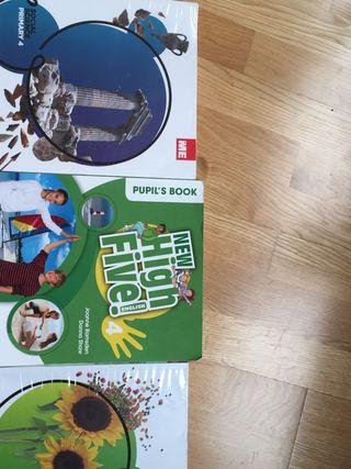 Vendo libros 4primaria