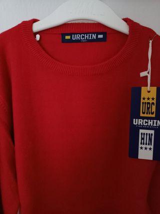 Jersey rojo sin estrenar talla 9-10