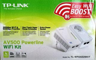 PLC TP-LINK AV500 POWERLINE WIFI KIT