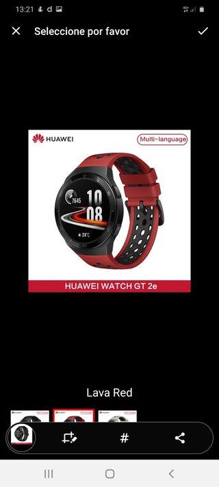 Reloj Huawei watch Gt 2e