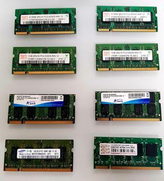 PACK DE TARGETAS RAM