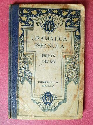 Gramática Española primer grado