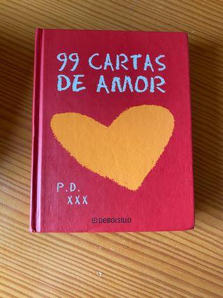 Libro 99 cartas de amor
