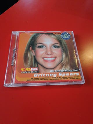 Britney Spears CD promocional