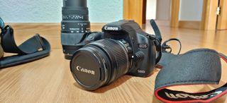 Canon 500D y Accesorios