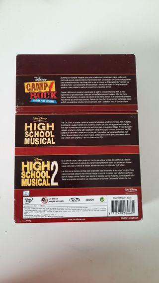 Pack High School Musical y Camp Rock