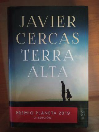 """Vendo libro """"Terra Alta"""" de Javier Cercas"""