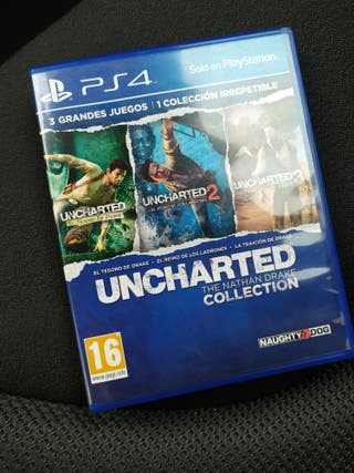 Uncharted Collection 1, 2 y 3 PS4