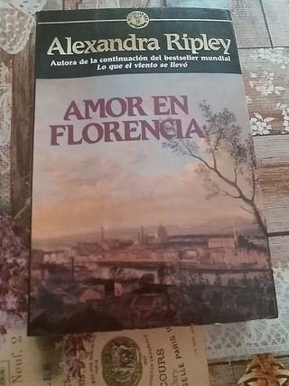Libro Amor en Florencia