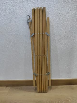 vallas extensibles de madera