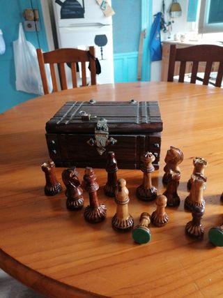 ajedrez artesanal