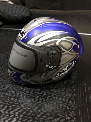 Hucha casco HJC fibra de vidrio