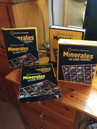 Colección 100 Minerales National Geographic