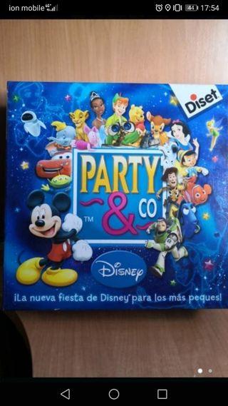 juego de mesa party Disney