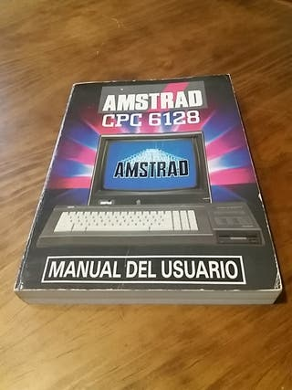Manual del Usuario Amstrad CPC 6128