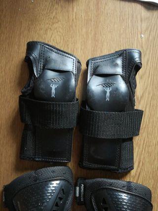 Protecciones de niñ@ para manos y codos.