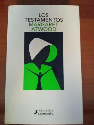"""Vendo libro """"Los testamentos"""" de Margaret Atwood"""