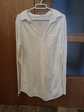 camisa larga talla M