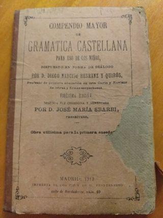 Compendio mayor de gramática castellana