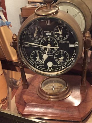 Reloj vintage,sobremesa .