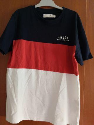 camiseta niño del zara nueva