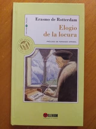 Elogio de la locura, Erasmo de Rotterdam