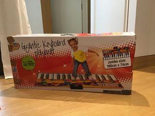 Teclado piano jueguete niños