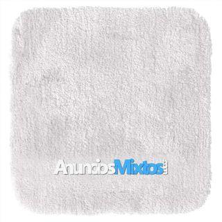 Alfombra de baño Chic blanco 55x50 cm