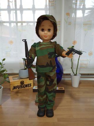 Muñeco Lucas militar reedición del 2018 nuevo
