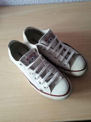 Zapatillas blancas Converse T38