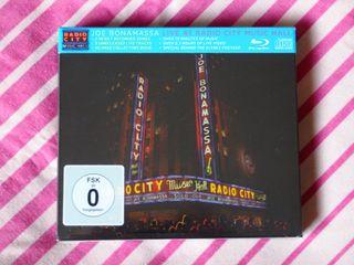 BLU-RAY+CD JOE BONAMASSA * NUEVO *