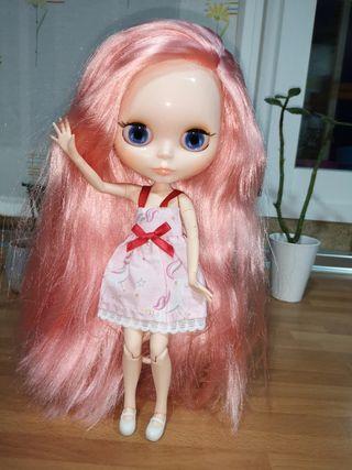 Preciosa muñeca Blythe Fake articulada nueva