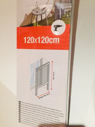 Mosquitera enrollable 120x120 SIN ABRIR