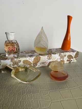 LOTE miniaturas de perfume KENZO + regalo