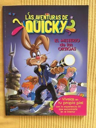 Cómic 'Las aventuras de Quicky'