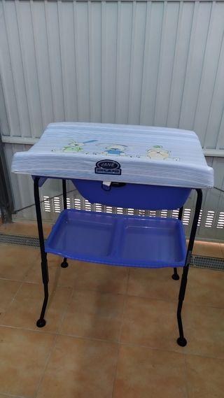 Bañera y cambiador para bebé - JANE
