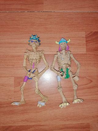 2 skeletor fighter figuras