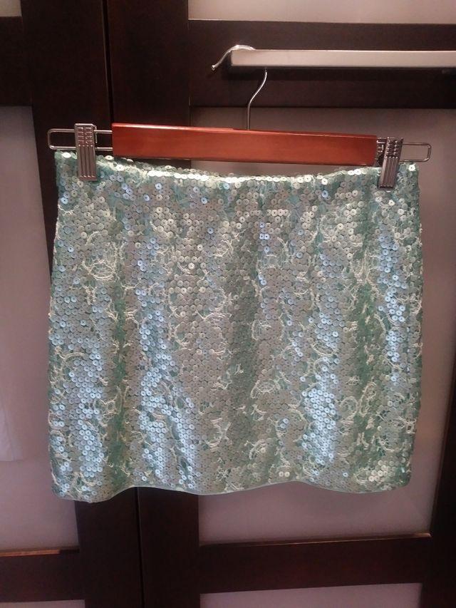 Minifalda fiesta