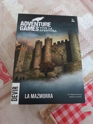 Adventure Games. La mazmorra.
