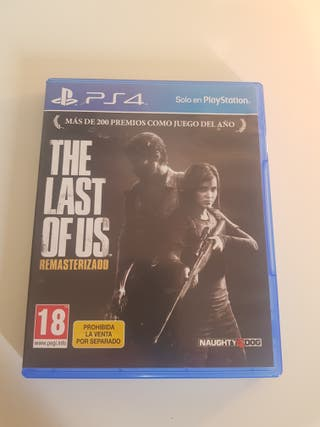 the las of us remastered ps4