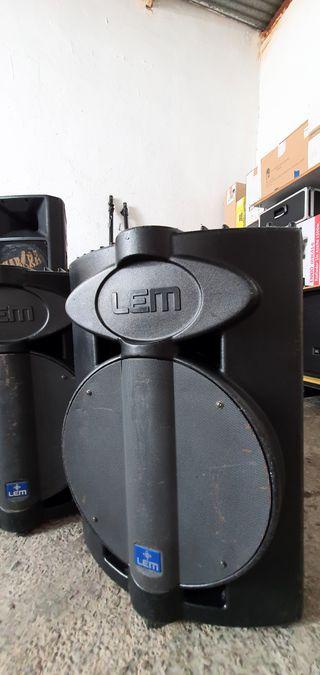 Subgrave LEM 15´Avalon Amplificado 400w RMS
