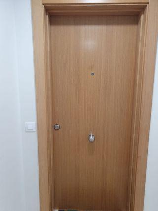 vendo puerta blindada de entrada