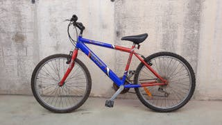 "bicicleta mtb 24"""