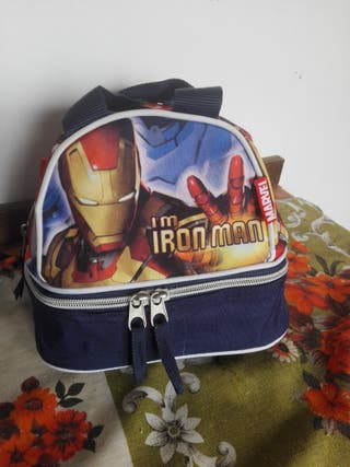 Marvel Ironman neceser con doble bolsillo