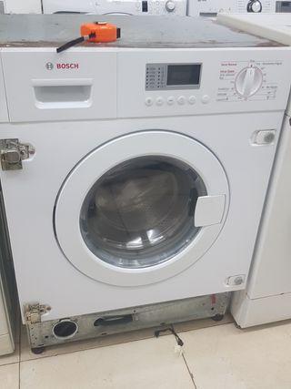 lavadora secadora Bosch para empotrar