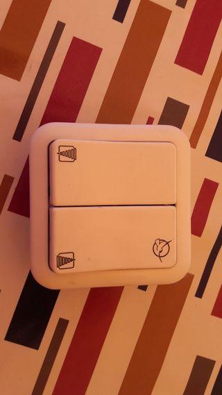 Interruptor de persiana.