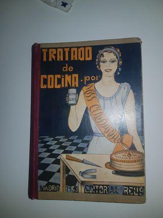 Libro 1a Edición 1933 tratado de cocina