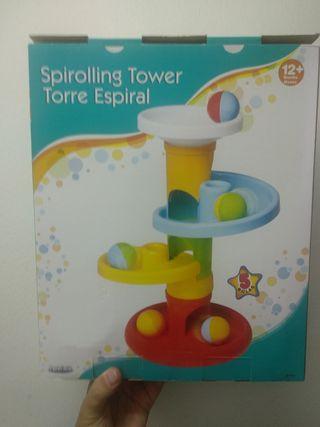 Juguete bebe bolas espiral